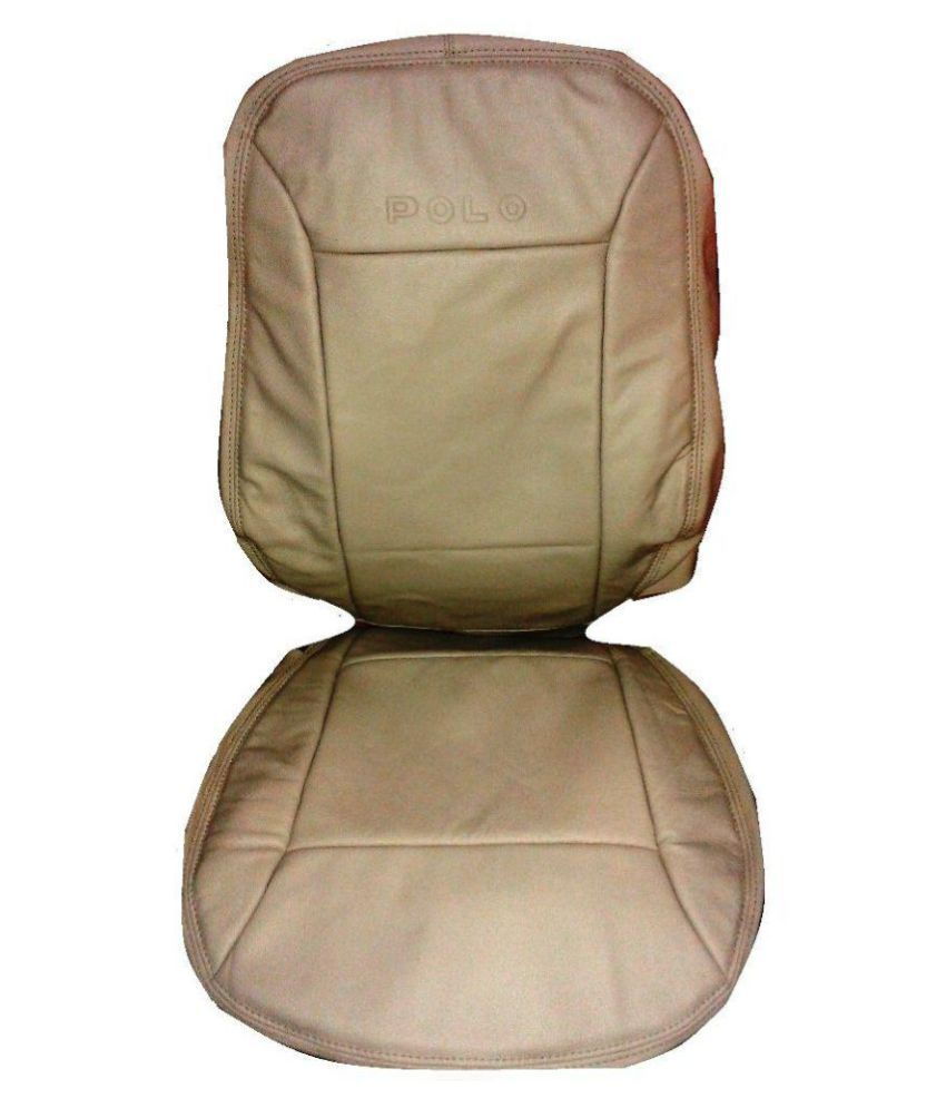 Zoha Beige Leather Car Seat Cover Buy Zoha Beige Leather