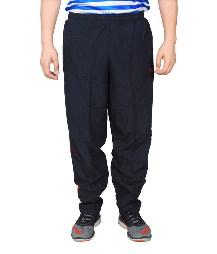 NNN Navy Blue Full Length Dry Fit Men's Track Pant
