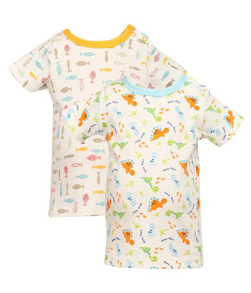 Teeny Weeny Multicolour T-Shirt - Set of 2