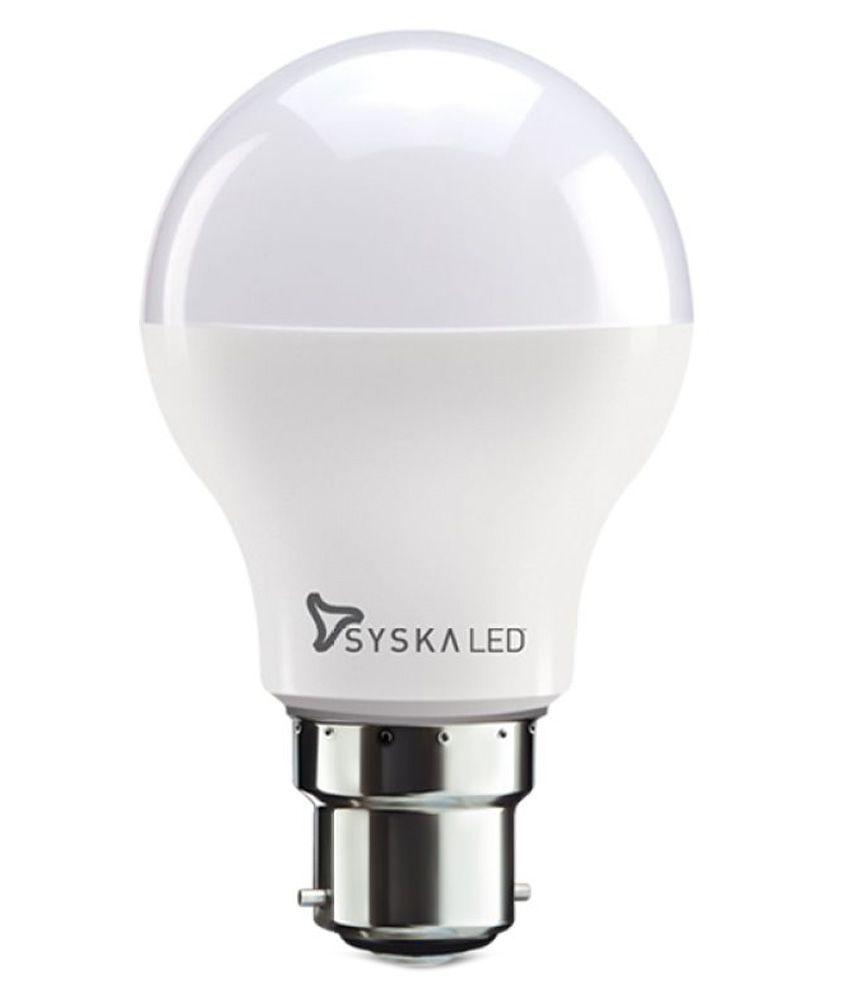 Syska 5w Single Led Bulb