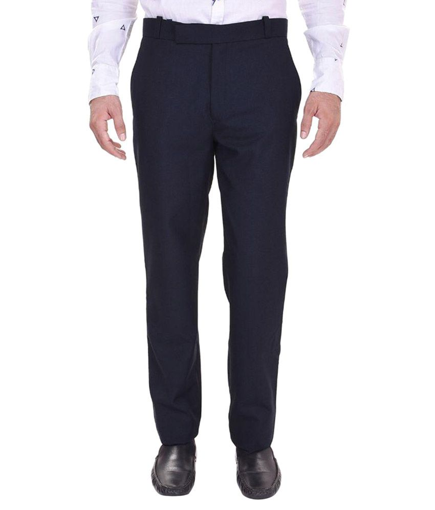 Trisera Dark Blue Trouser