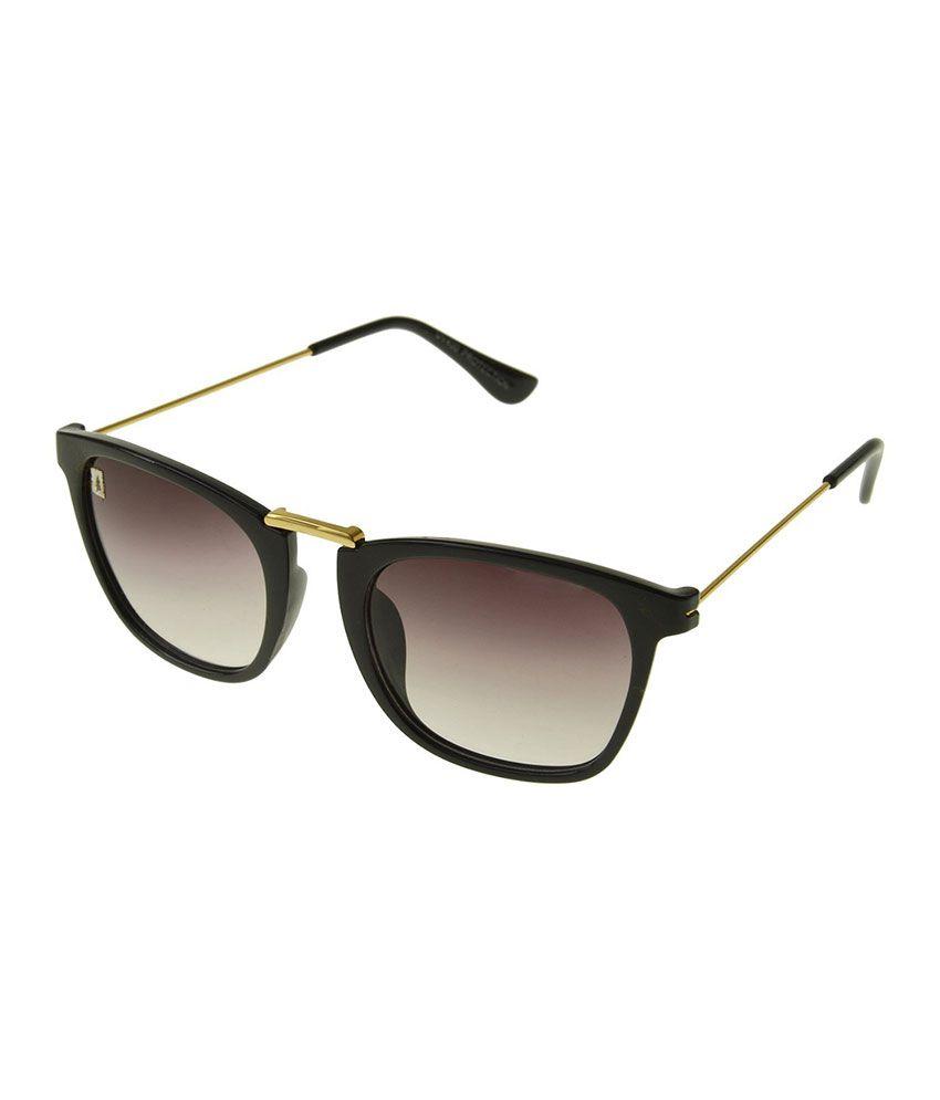 Hell Blues Brown Wayfarer Sunglasses ( HB_067 )