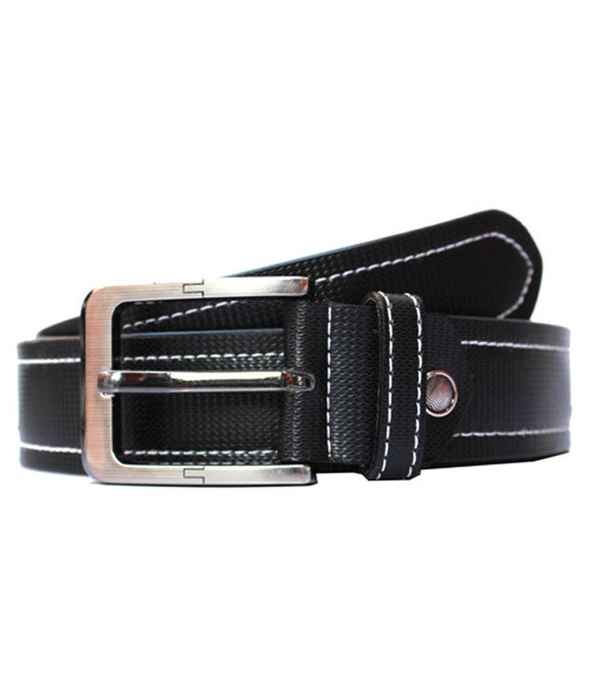 Winsome Deal Black PU Formal Belts