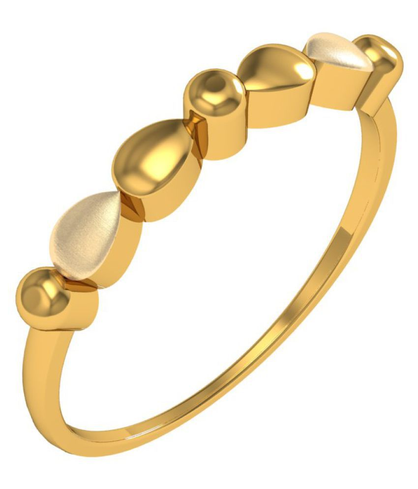 Jewelmantra 22k Gold Ring