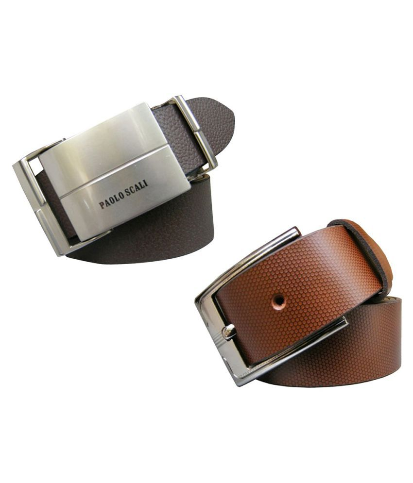 Winsome Deal Multi Leather Formal Belts