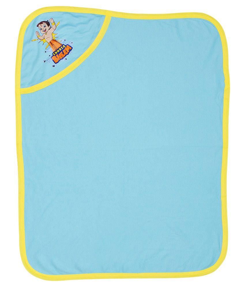 Chhota Bheem Blue Baby Wrap