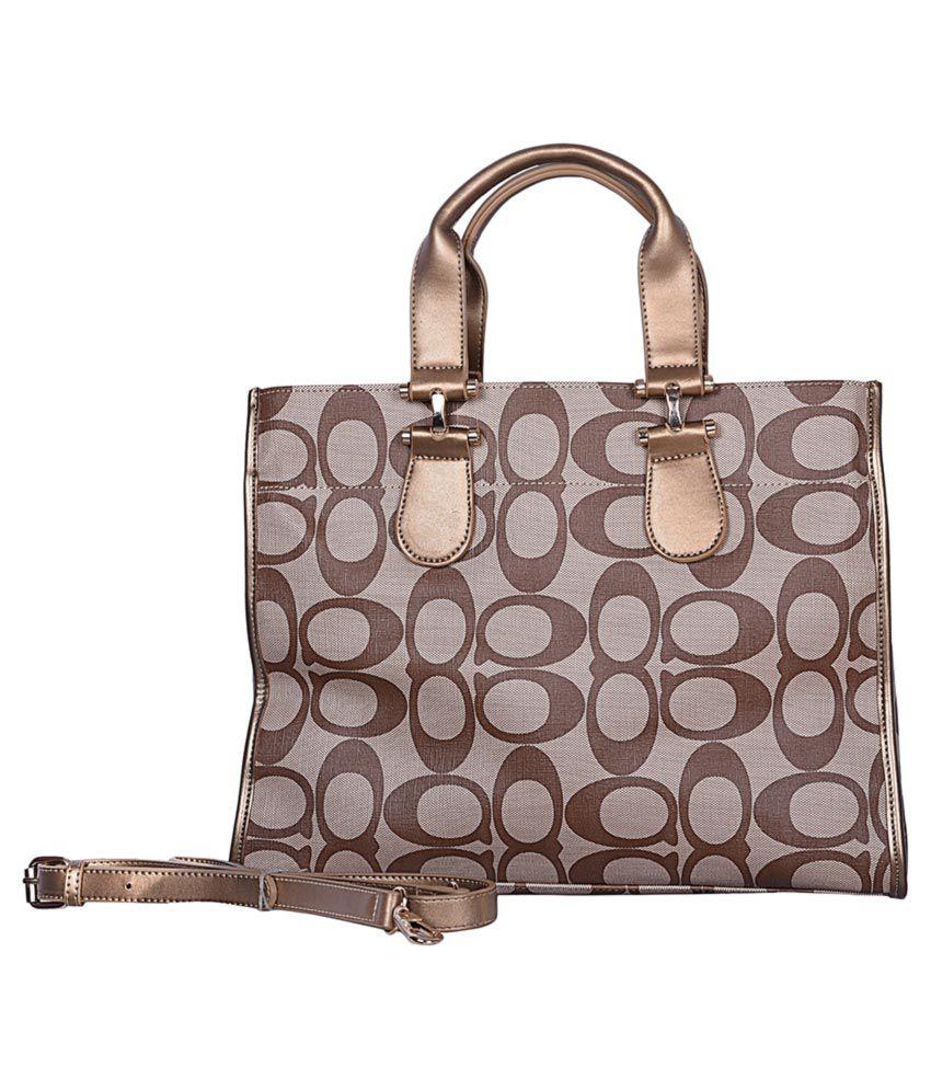Decot Paradise Brown Pure Leather Shoulder Bag