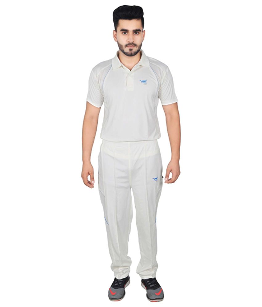NNN Off-White Dry Fit Cricket Men's Track Suit