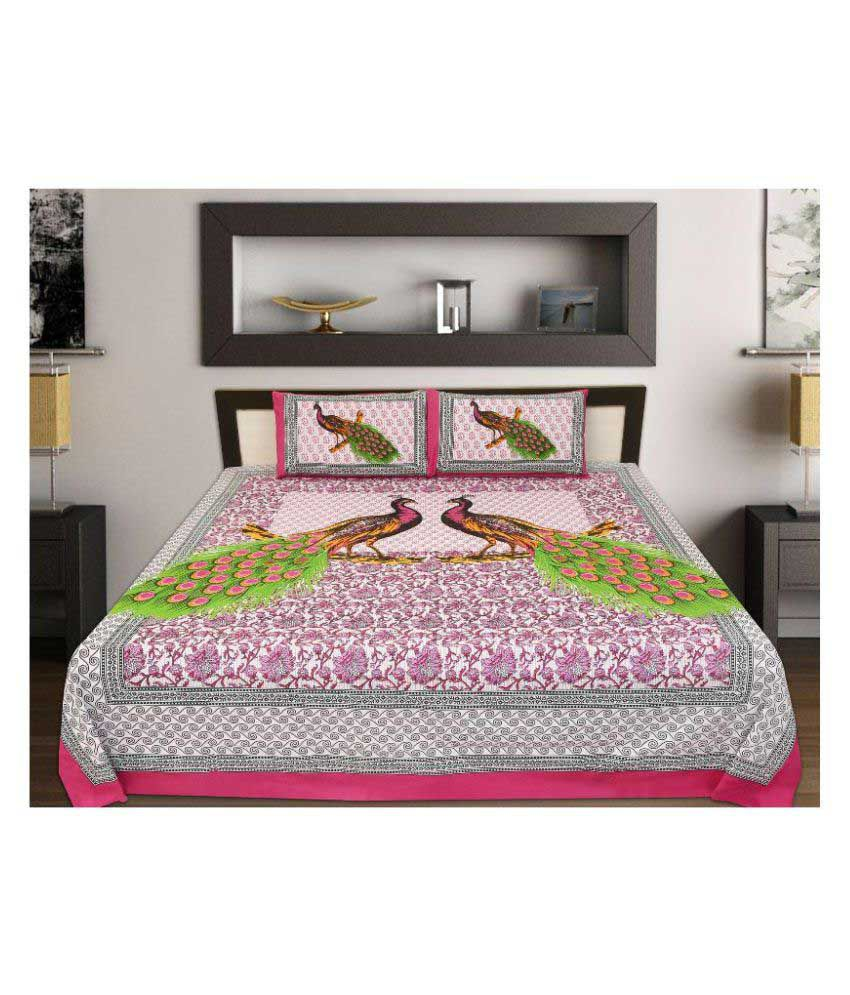 sleepwell king cotton animal bed sheet buy sleepwell king cotton