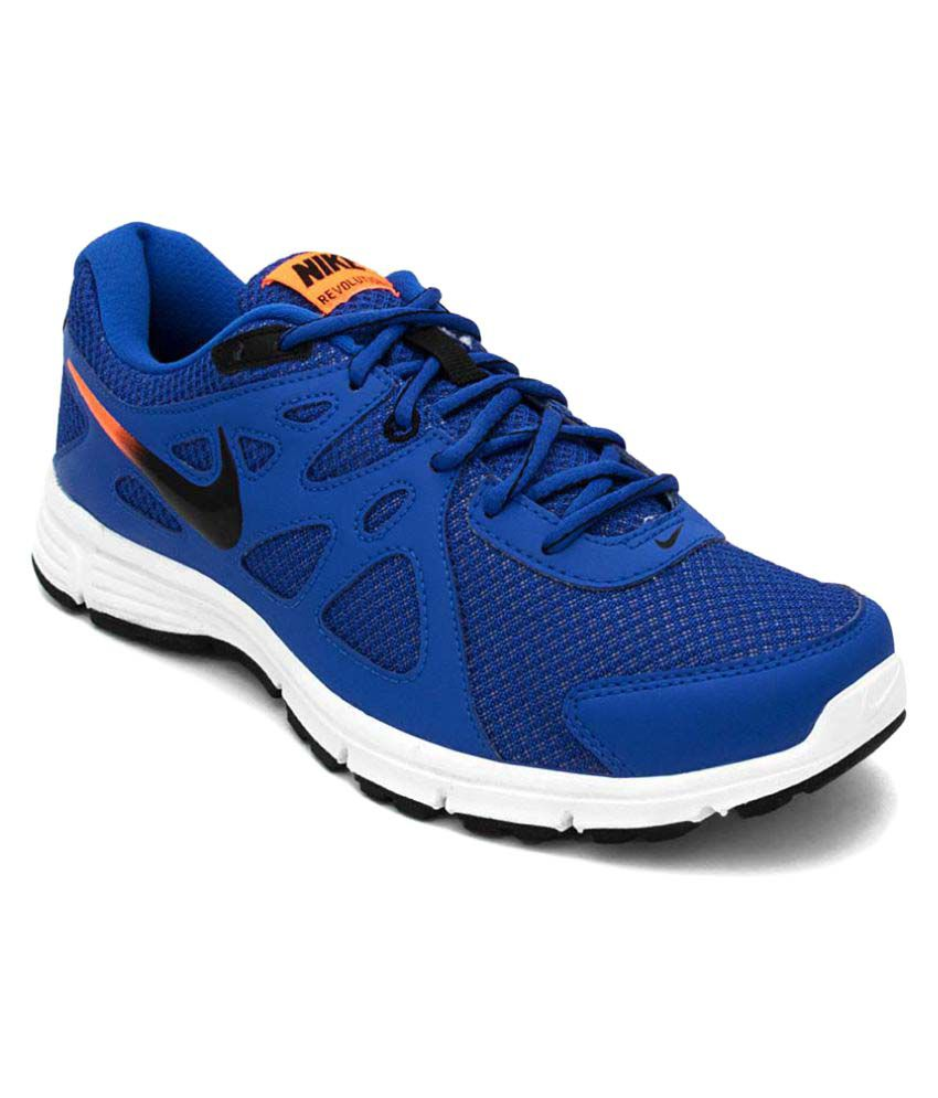 detailed look 13a1d 6f0b4 Nike NX-NI 554954-409 10 Blue Running Shoes - Buy Nike NX-NI 554954-409 10 Blue  Running Shoes Online at Best Prices in India on Snapdeal