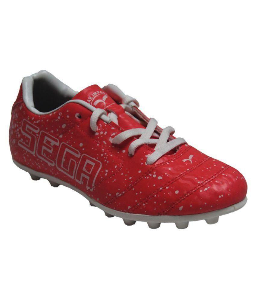 Sega Red Football Shoes - Buy Sega Red Football Shoes ...