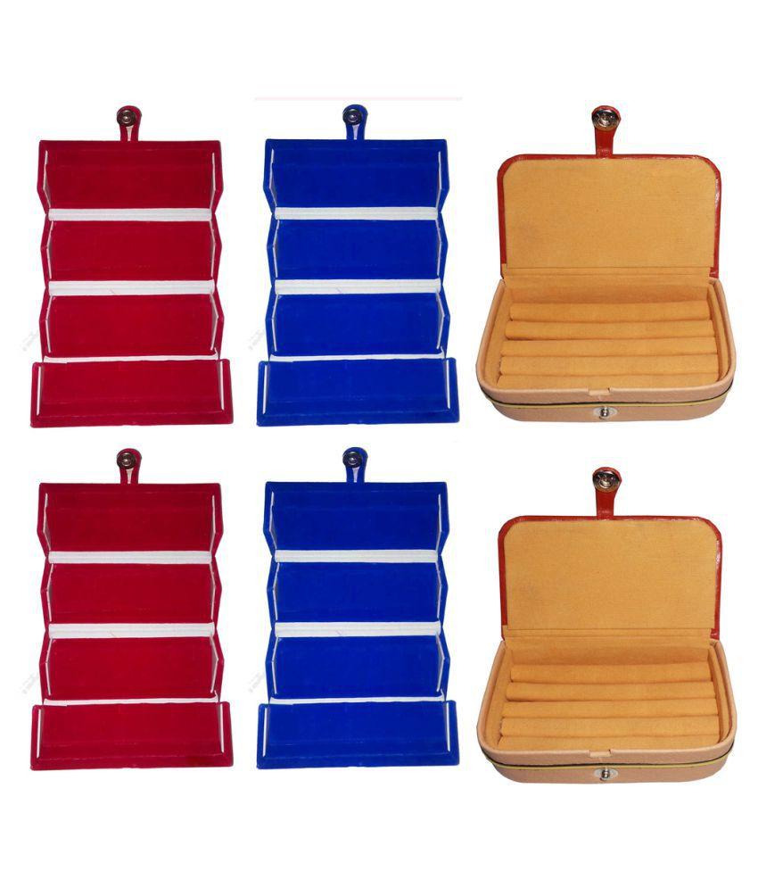 Abhinidi Multicolour Jewelley Box - Set of 6