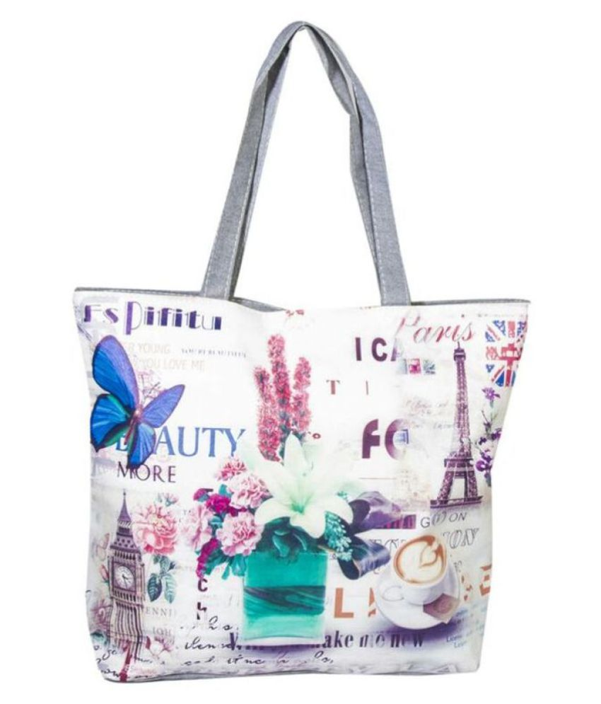 Iconic Jewellery Multi Fabric Tote Bag