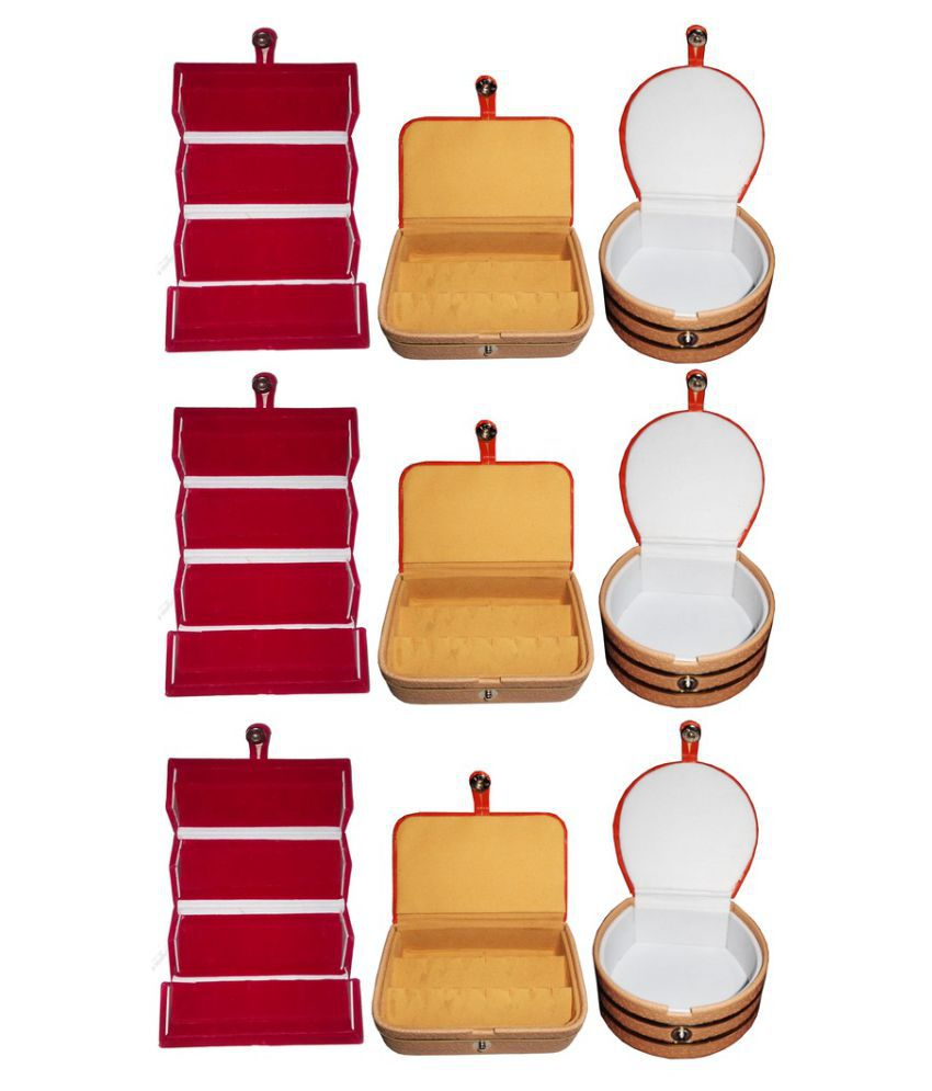 Abhinidi Multicolour Jewelley Box - Set of 9