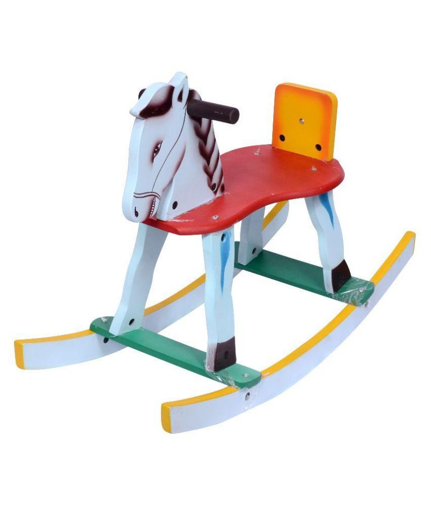 Horse Riding Chair Amazing Rockin Rider Lucky Deluxe