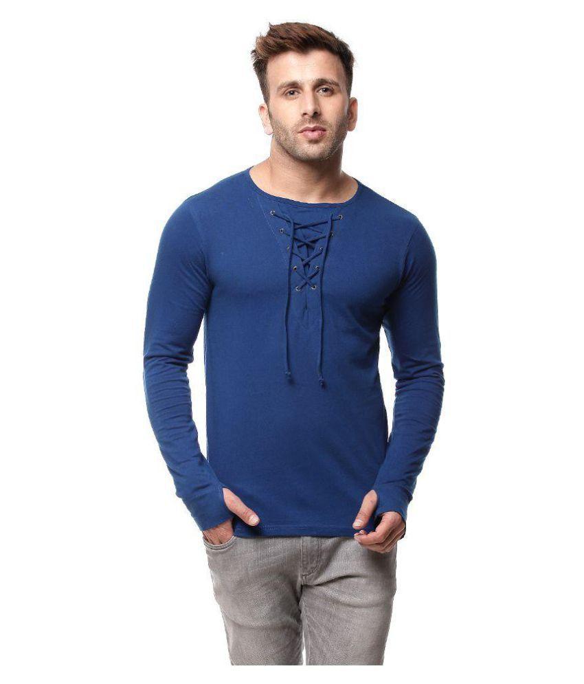 Gritstones Blue Round T-Shirt
