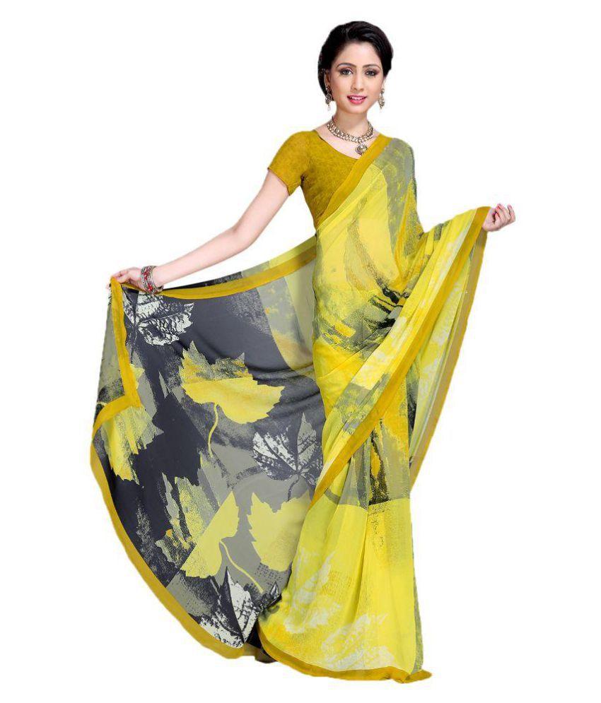 Snapshopee Multicoloured Silk Saree