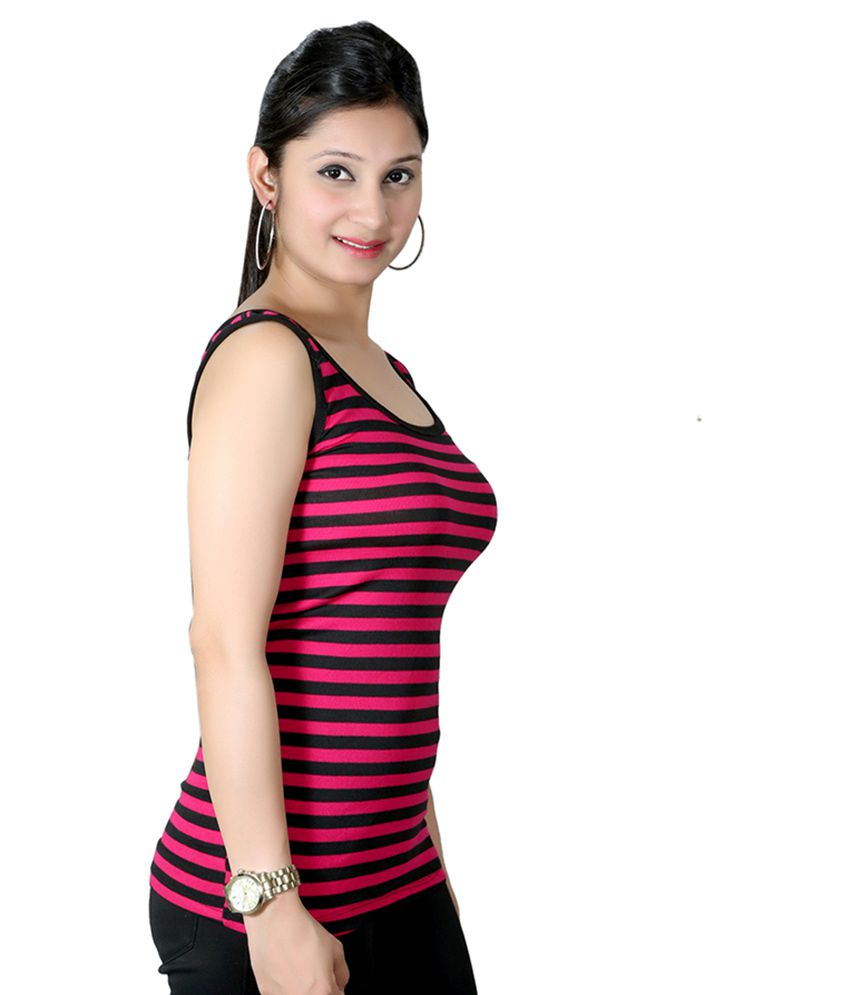 Color q online -  Q Rious Multi Color Cotton Lycra Camisoles