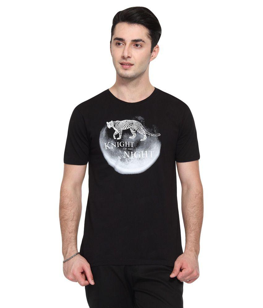 Wolfpack  Black Round T-Shirt