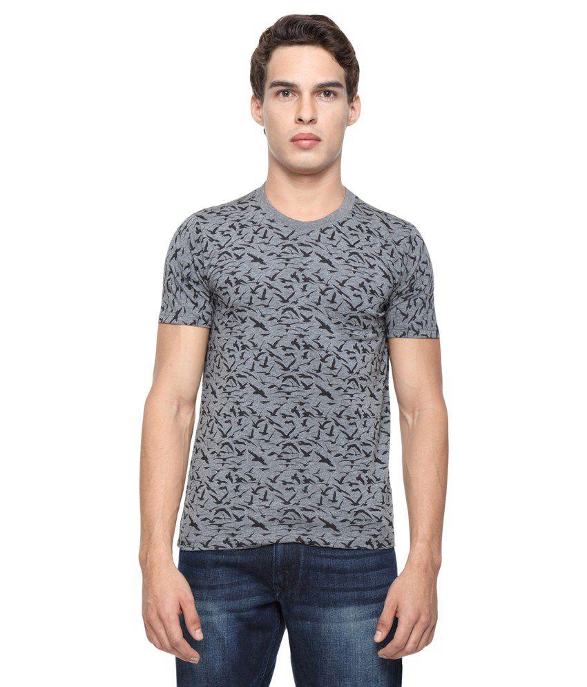 Wolfpack  Grey Round T-Shirt