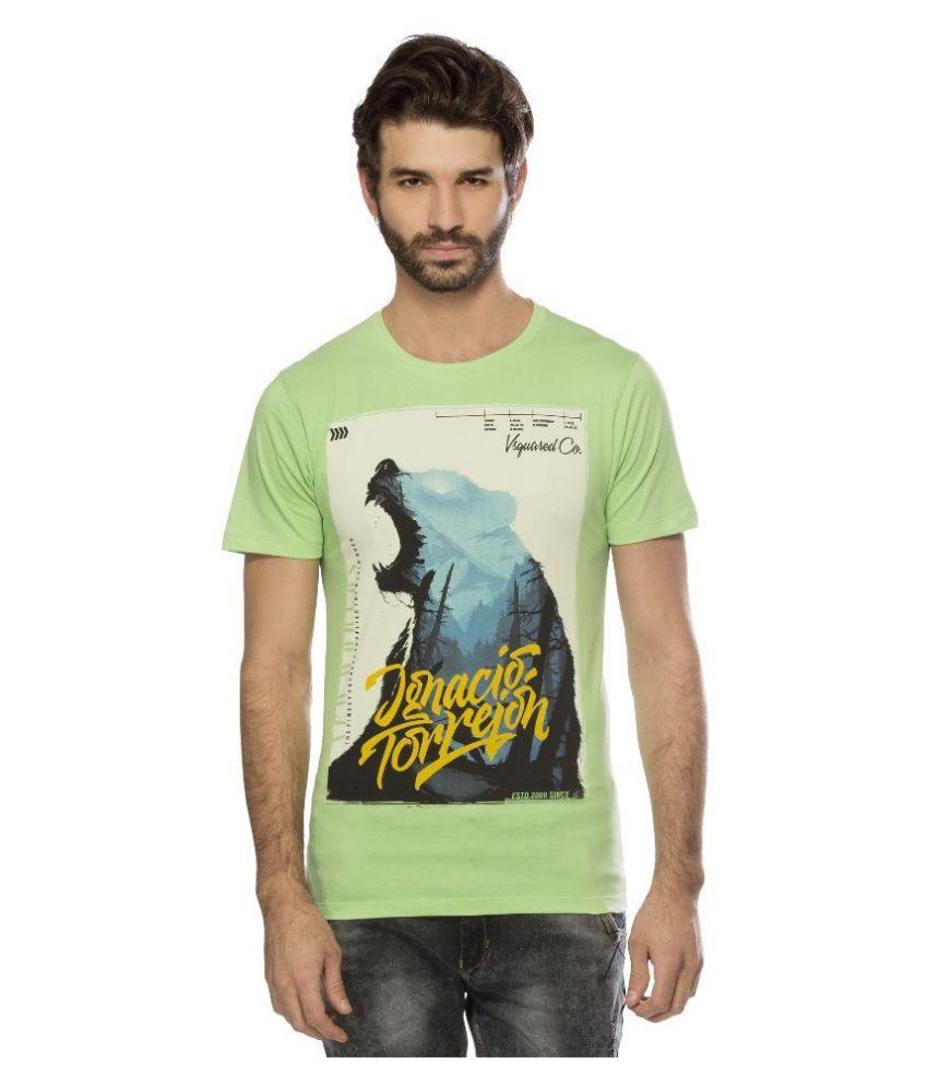Yo Republic Green Round T-Shirt