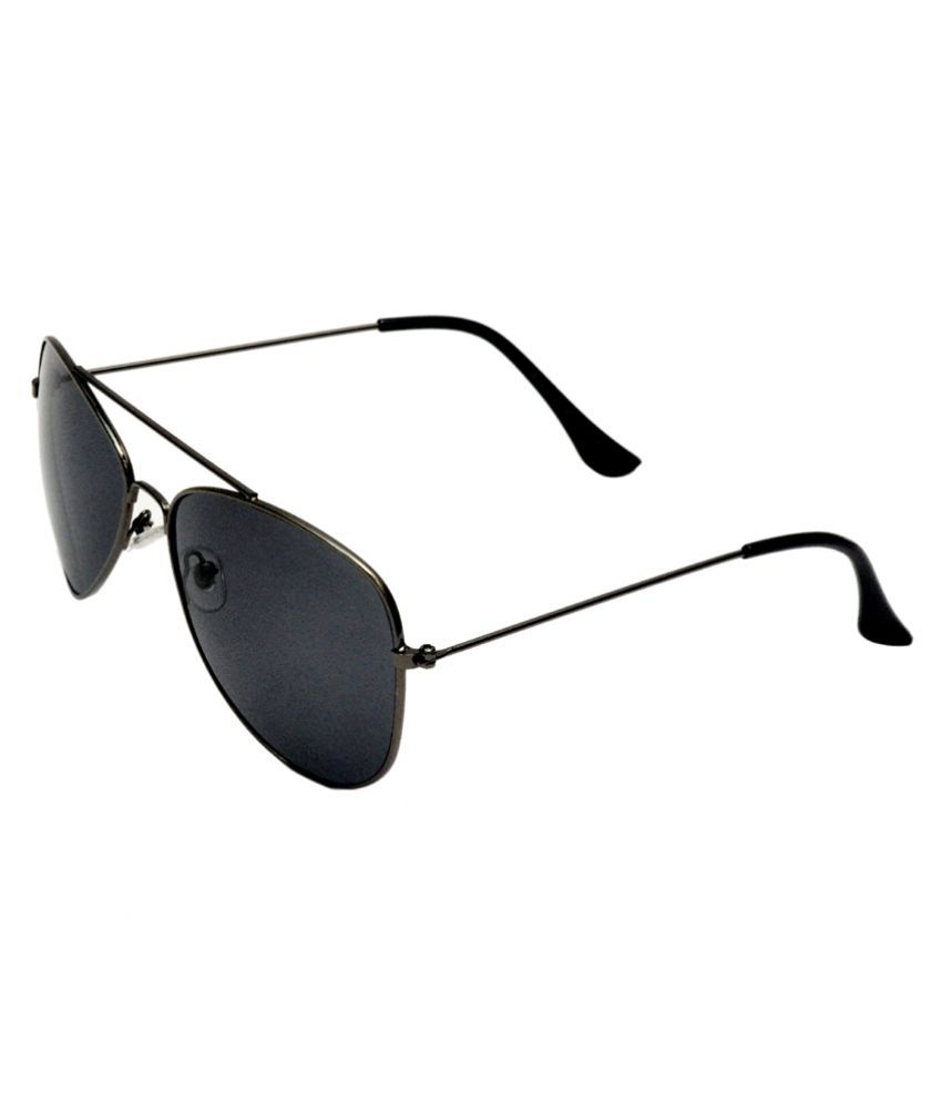 Highway Craze Black Aviator Sunglasses ( )