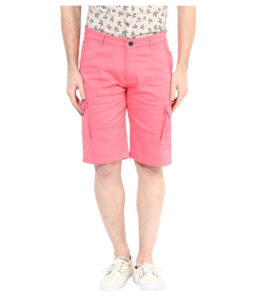 Silver Streak Pink Shorts