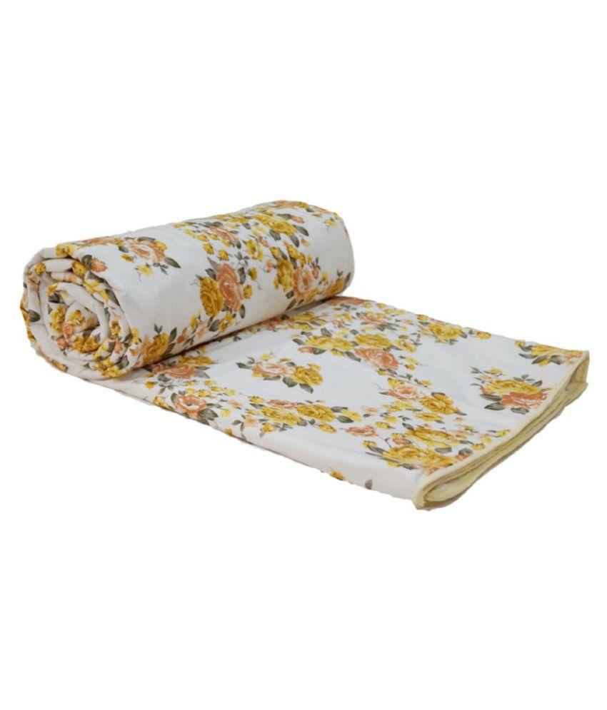Snuggle Single Cotton Floral Dohar