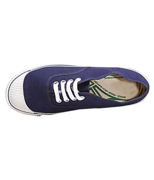 Bata Blue Canvas Shoes Price in India