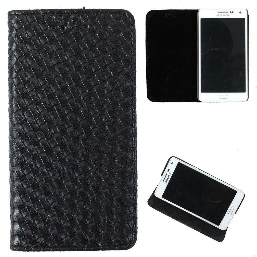 Samsung Galaxy J7 Flip Cover by DooDa - Black