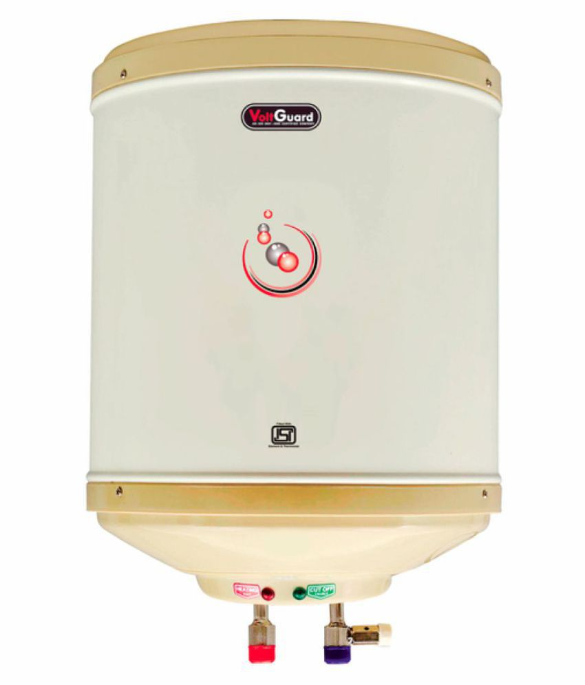 Voltguard 35 Ltr Water Heater Amazon 5 Star- Ivory