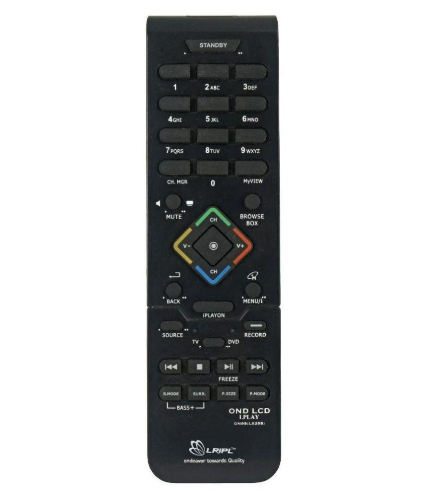 Lripl I-play Tv Remote Compatible With Onida Led I-play
