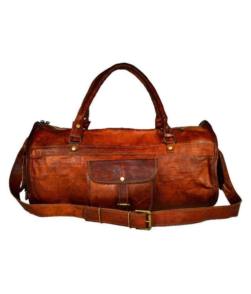 Adimani Brown Gym Bag