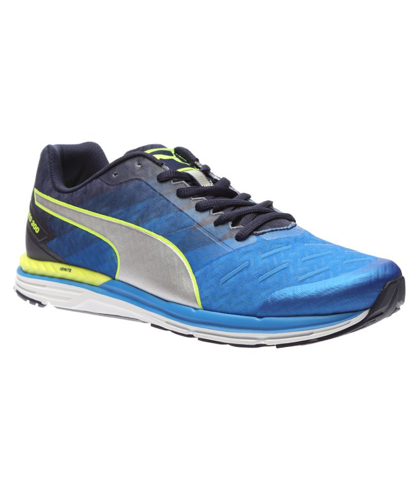 c3cb31a9b7f Puma Speed 300 IGNITE Blue Running Shoes - Buy Puma Speed 300 IGNITE Blue  Running Shoes Online at Best Prices in India on Snapdeal