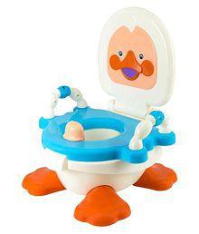 Panda Multicolor Duck Potty Seat Cum Chair