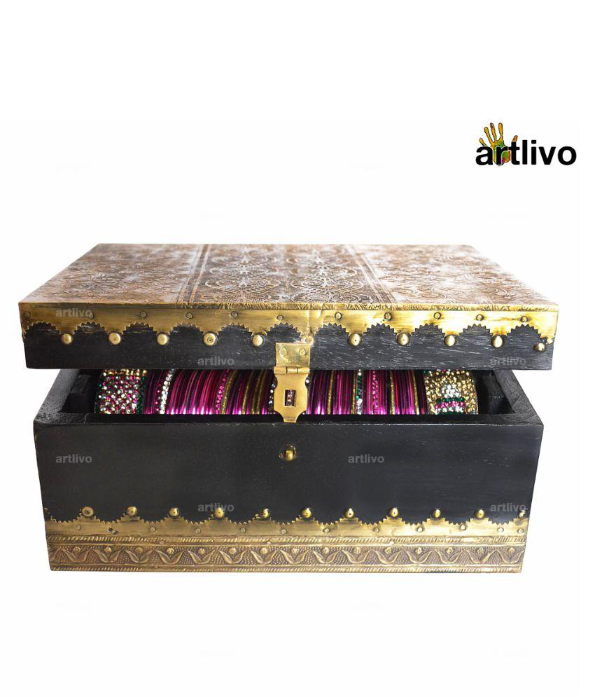 Artlivo Golden Designer Bangle Box