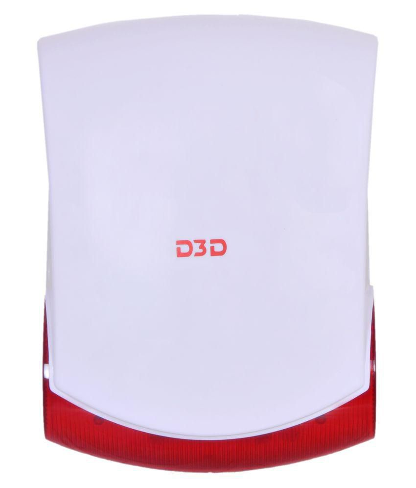 D3D Security D3D  Wireless Outdoor Siren Power Supply