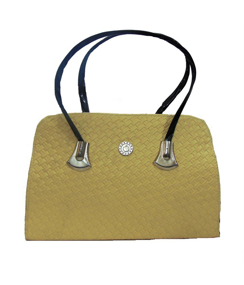 Estoss Green Faux Leather Shoulder Bag