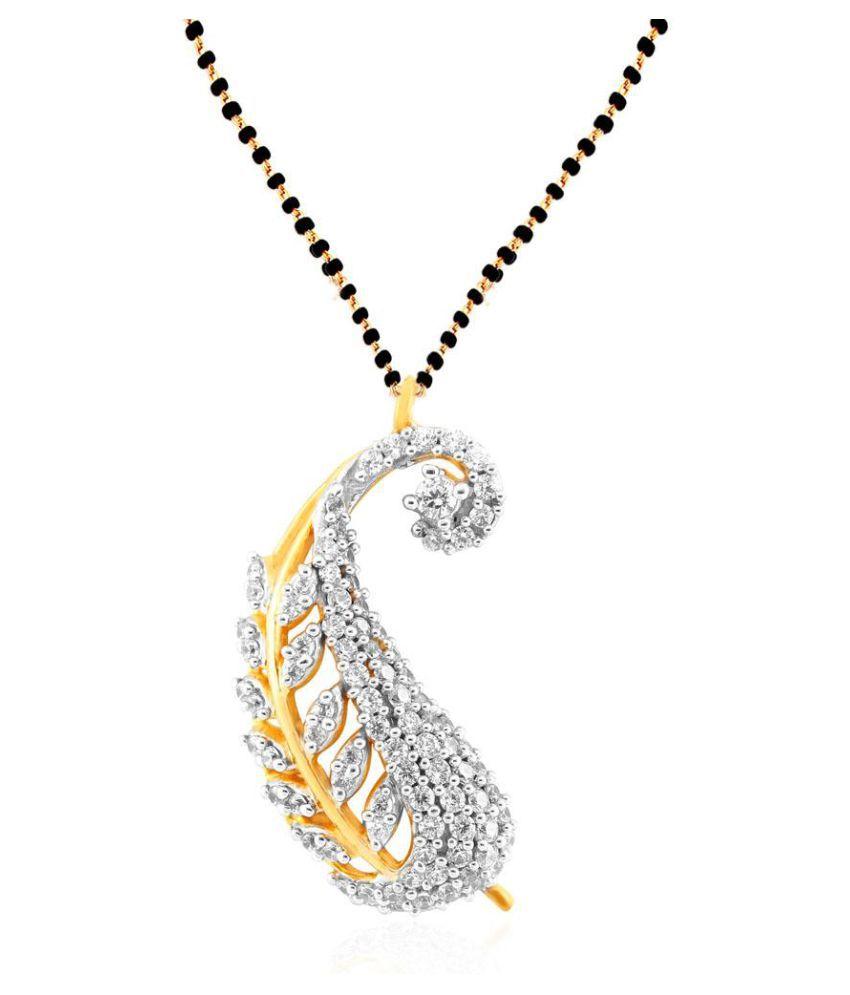 Gili 18k Yellow Gold Diamond Mangalsutra
