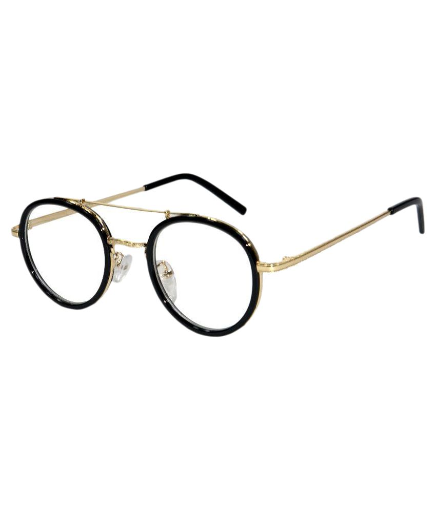 Peter Jones Black Round Spectacle Frame B-101B