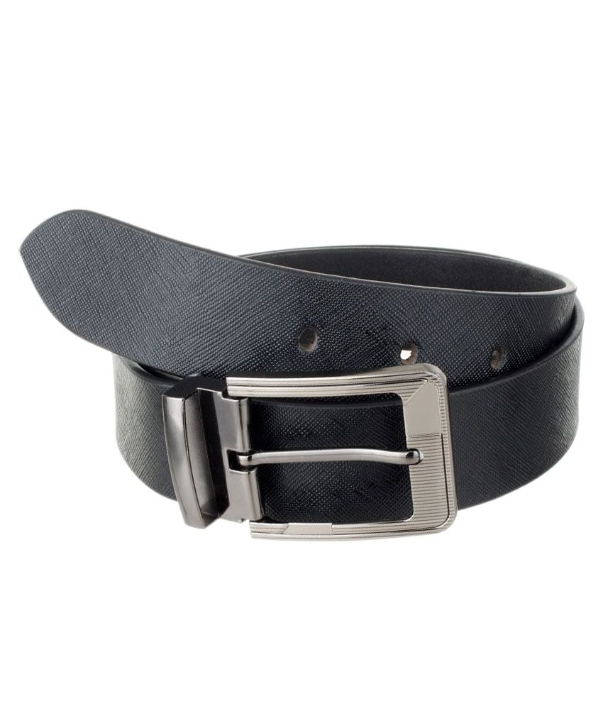 The Blue Pink Black Leather Casual Belts