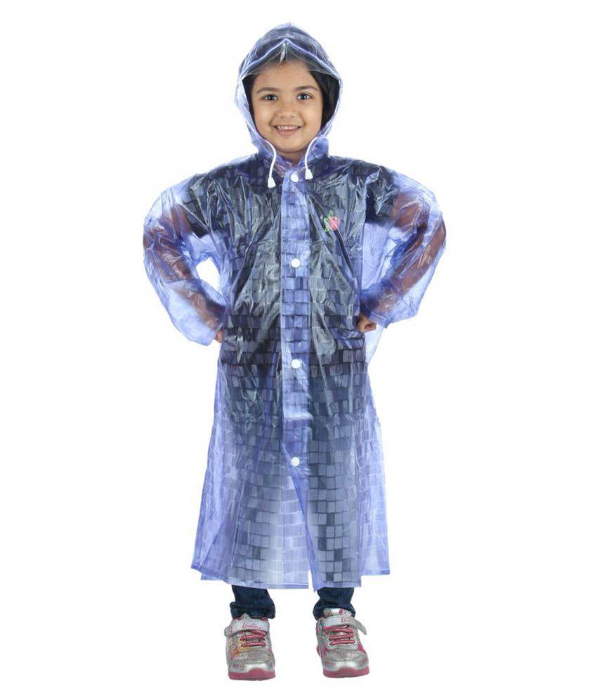 Highlands Purple Polyester Raincoat