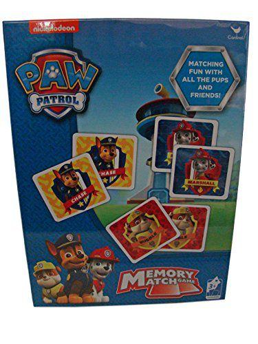 paw patrol memory match game buy paw patrol memory match game