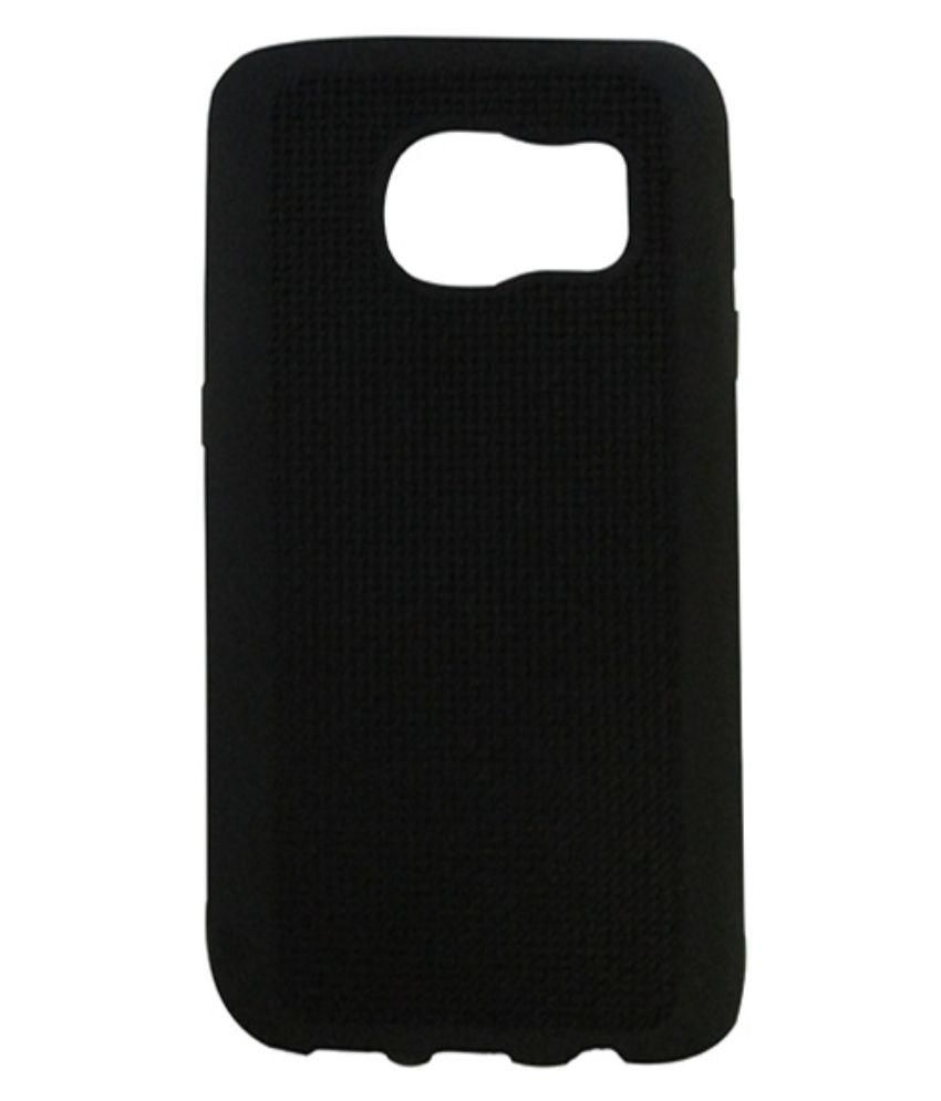 Samsung Galaxy S7 Back Cover by Flipfort Shopping Mall - Black