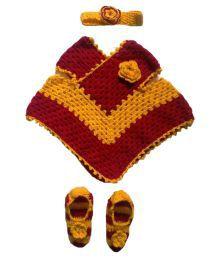 Gayatri Fashion World Multicolour Woolen Baby Set