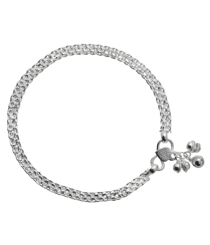 Vedika Jewellery Silver Anklet