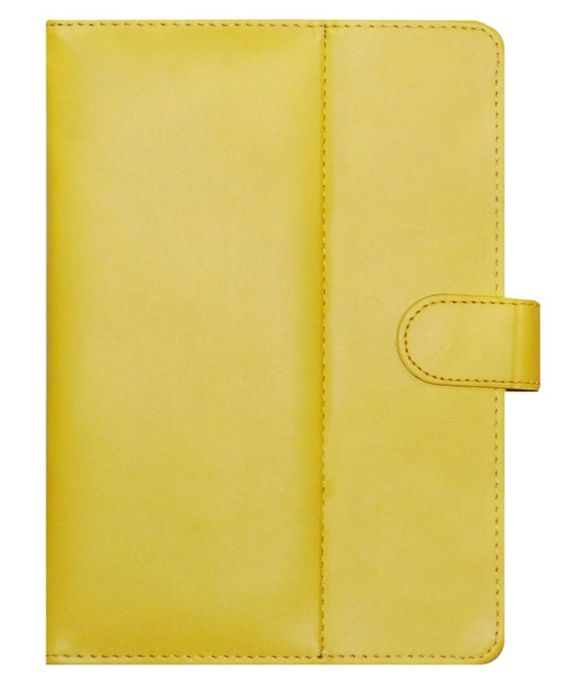Apple iPad Air 2 Flip Cover By ACM Yellow