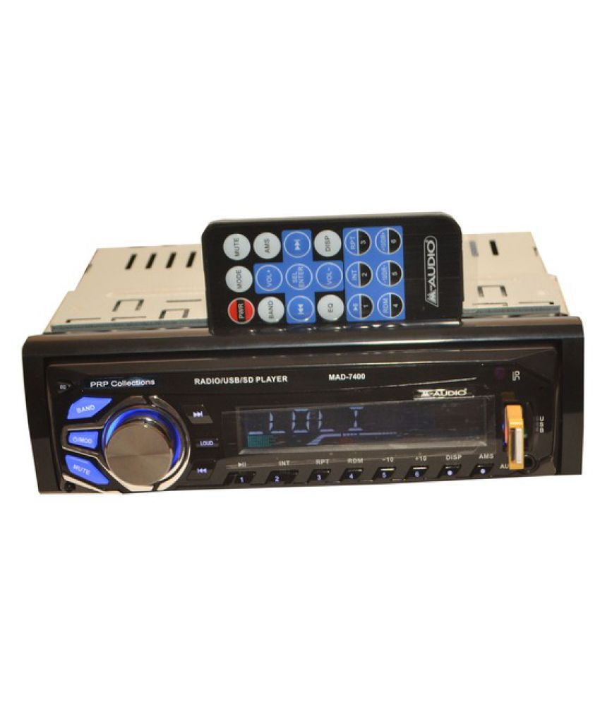 Prp Collections Mad 7400 Double Din Car Stereo Buy Prp