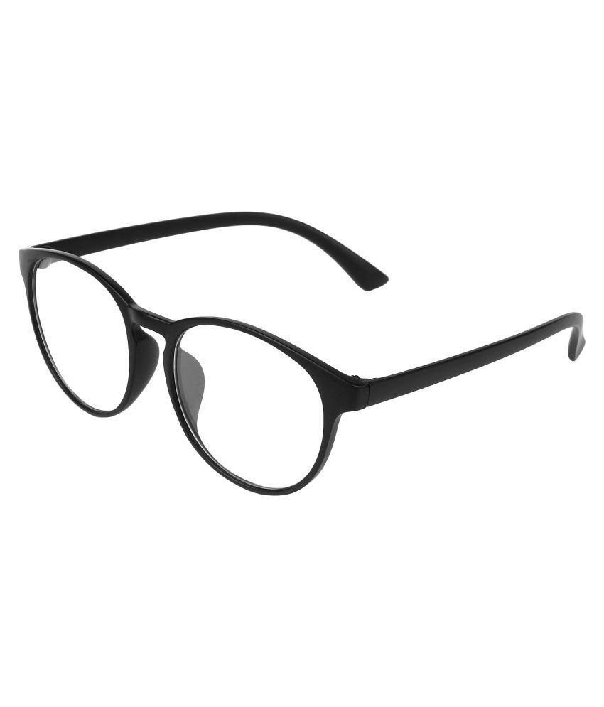 Zyaden Black Round Spectacle Frame FRA189