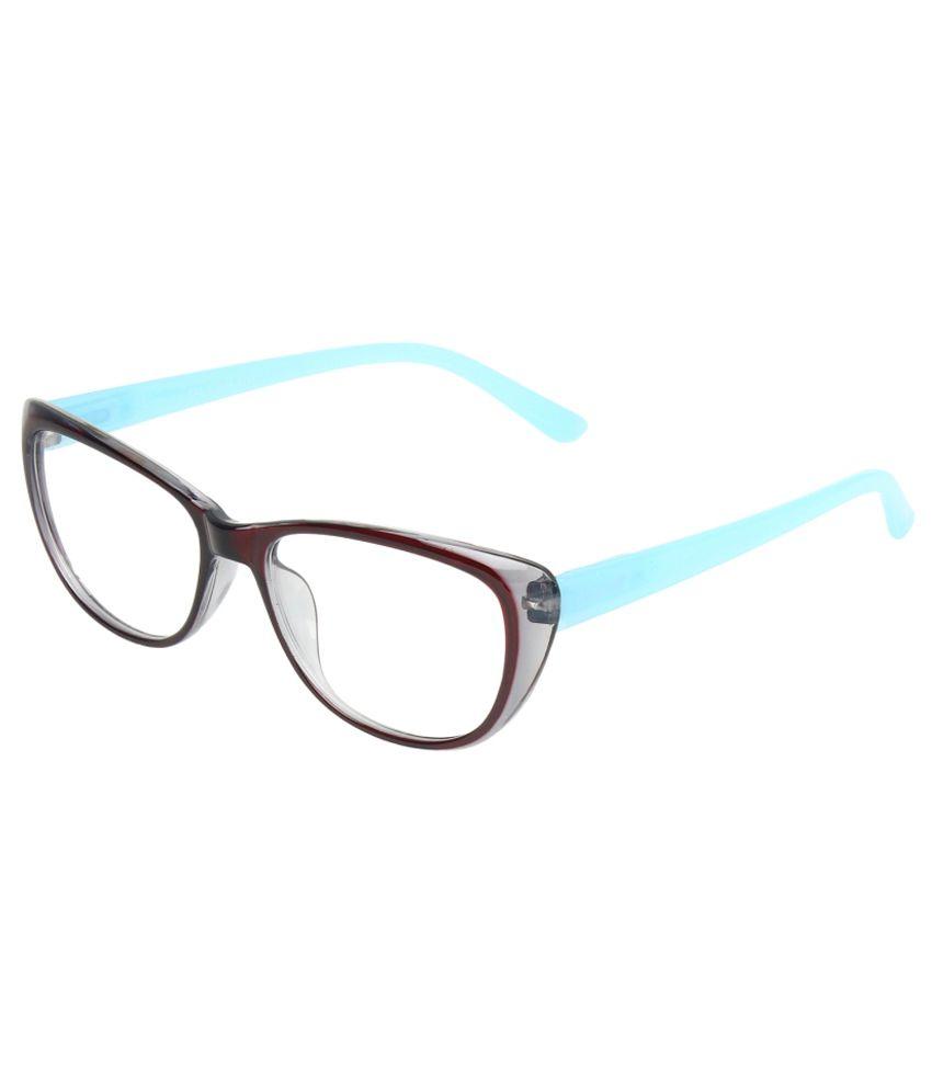 Zyaden Non Metal Cateye Frame Eyeglasses - Buy Zyaden Non ...